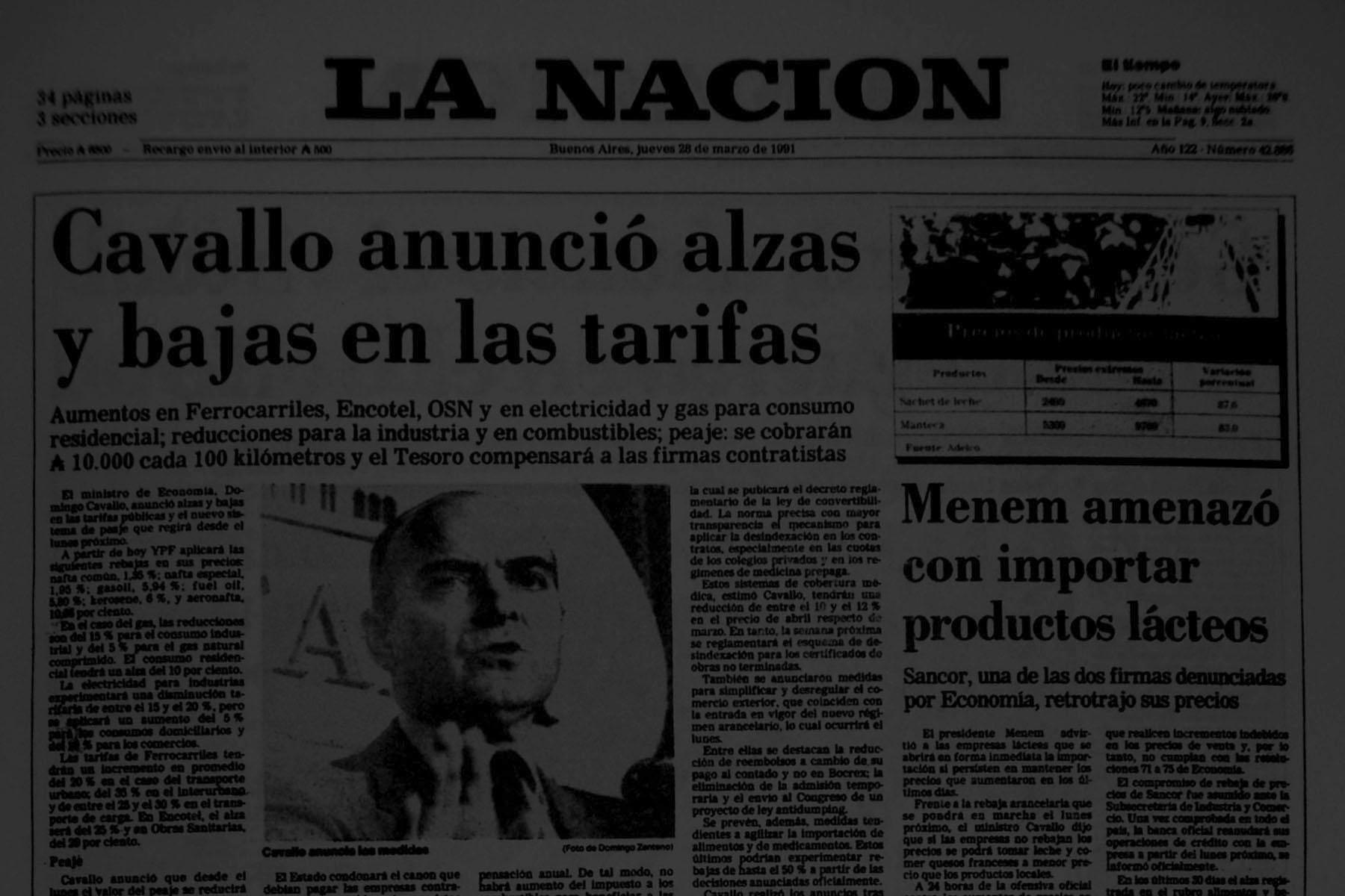 1992 - Horacio Rovelli - Economista
